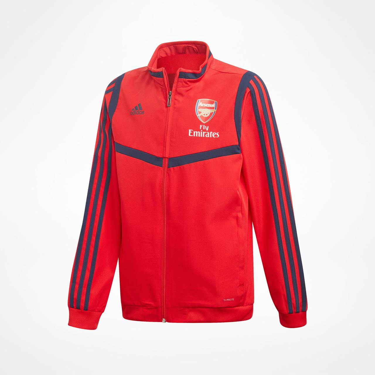 Arsenal Jakke Presentation Rød Junior SupportersPlace