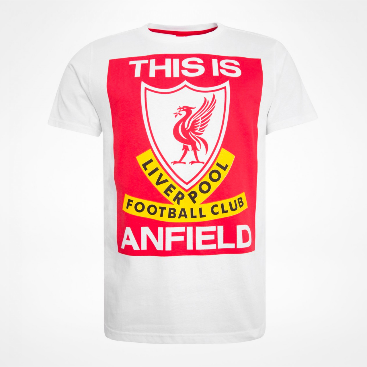 Liverpool Fc Beaten 3 0 By Real Madrid At Anfield: Liverpool T-shirt This Is Anfield