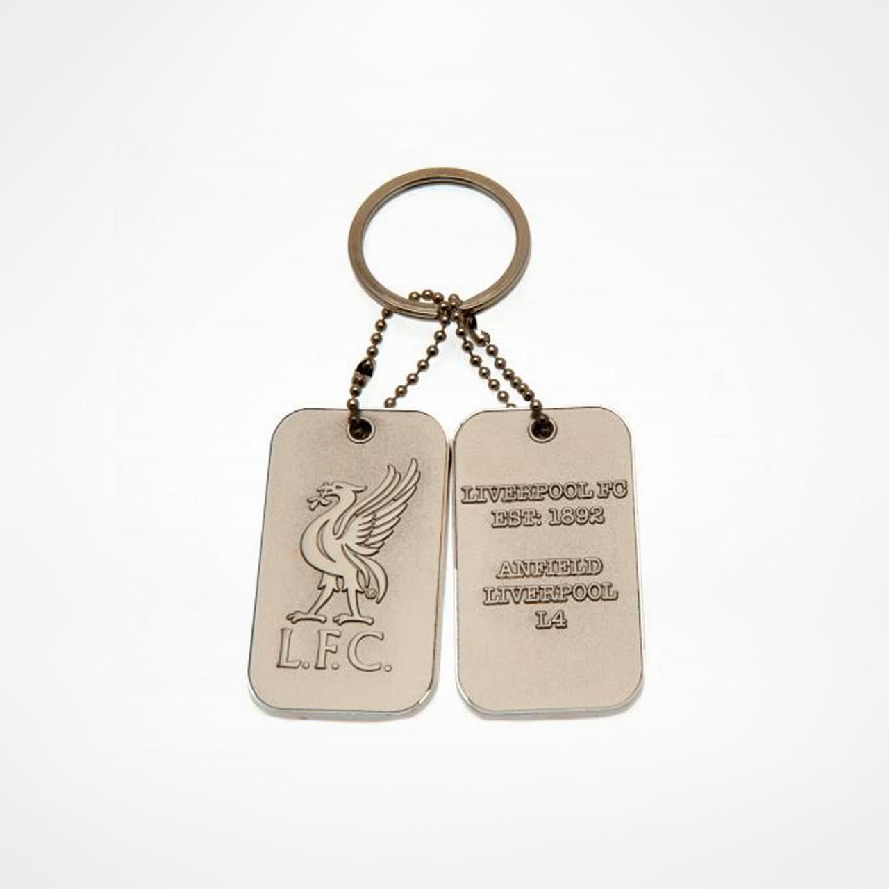 Liverpool Fc Dog Tag Keyring Supporters Placesta