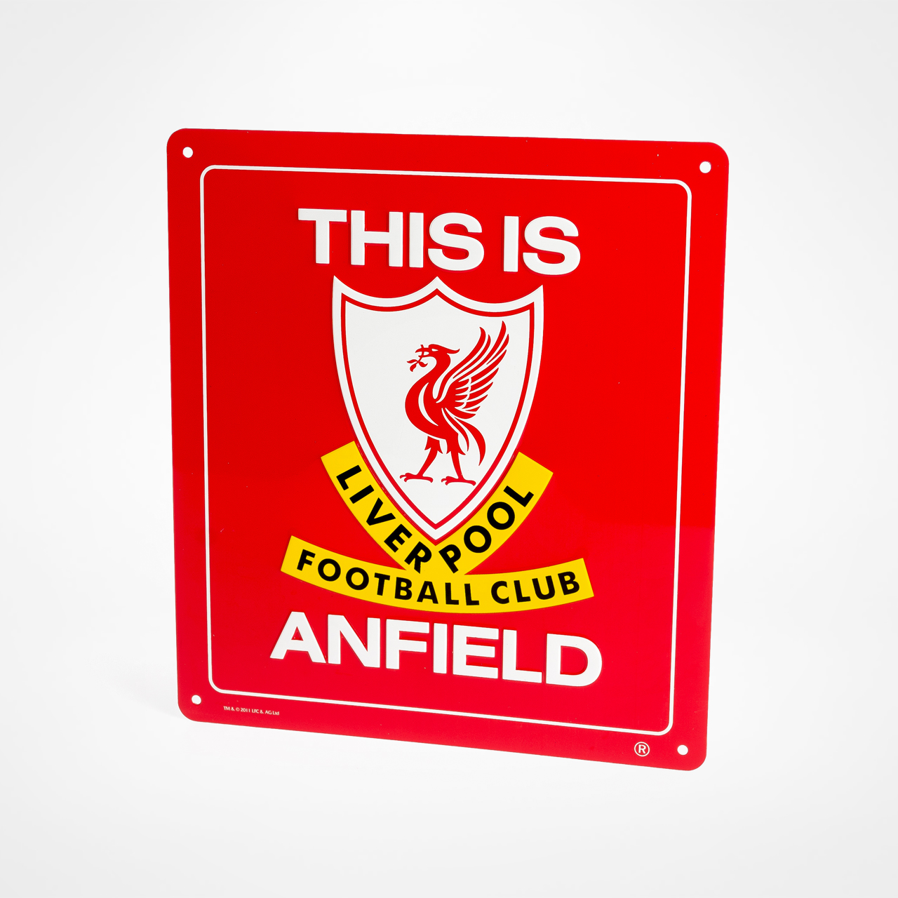Liverpool Fc Beaten 3 0 By Real Madrid At Anfield: Liverpool Skylt This Is Anfield Hos Supporterprylar.se