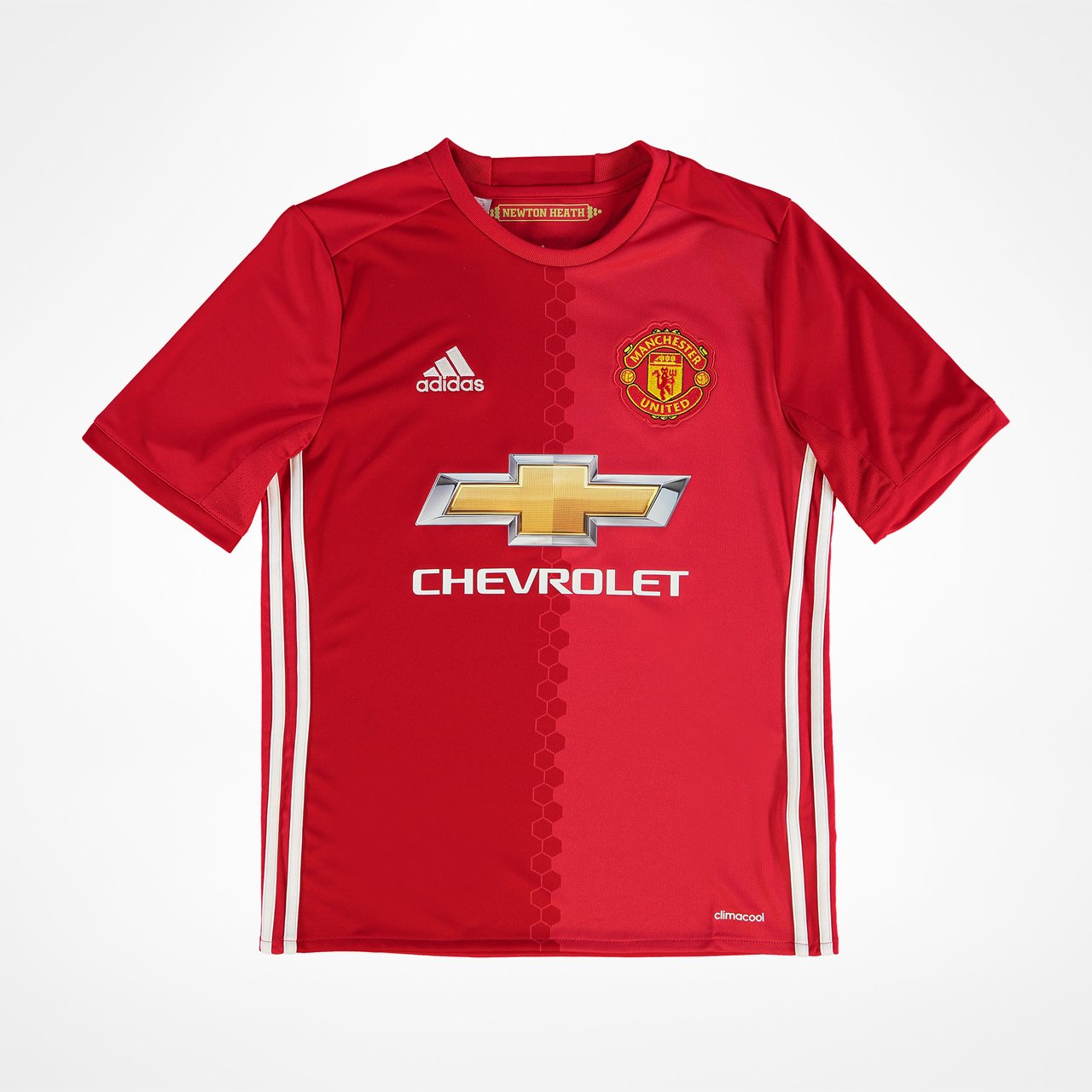 Outlet New Jersey >> Manchester United Home Jersey Junior 2016/17 - SupportersPlace