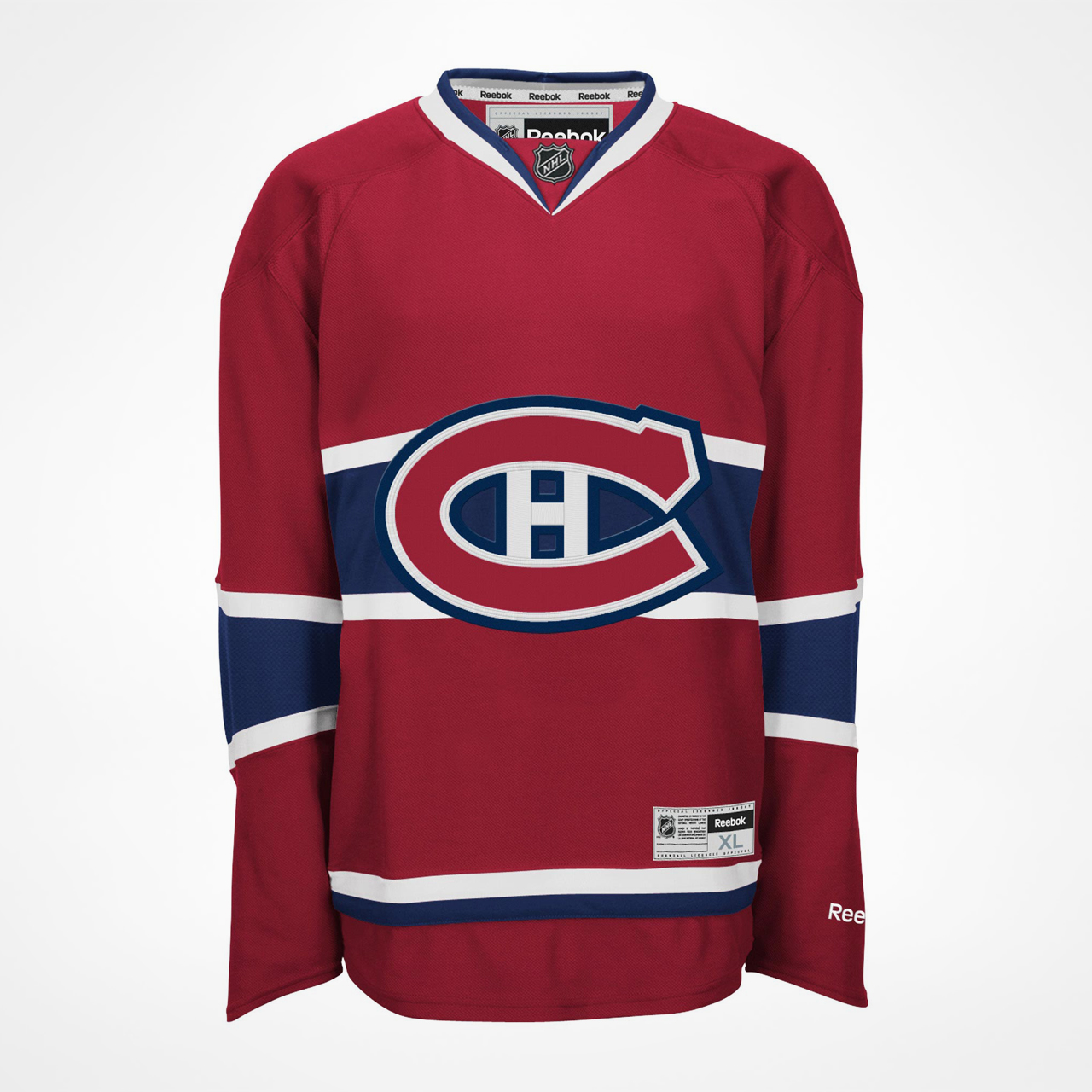 separation shoes 725e5 7fb1c Montreal Canadiens Premier Replica Home Jersey ...