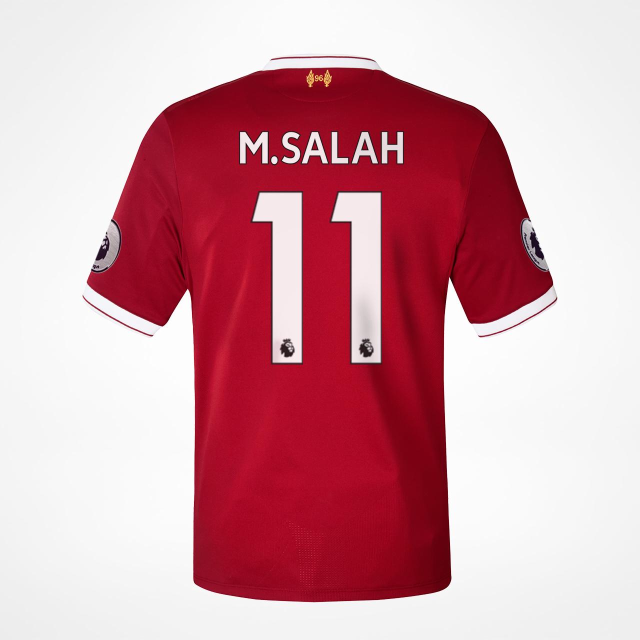 Outlet New Jersey >> Liverpool Hjemmedrakt - M.Salah 11 hos KopShop.no