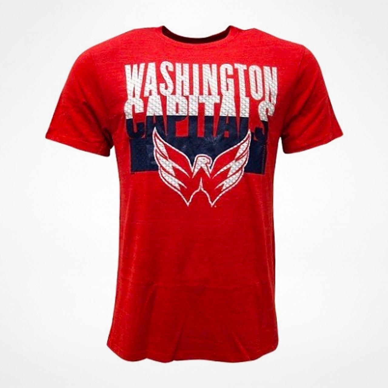 Washington Capitals Split Time T Shirt Hos Supporterprylar