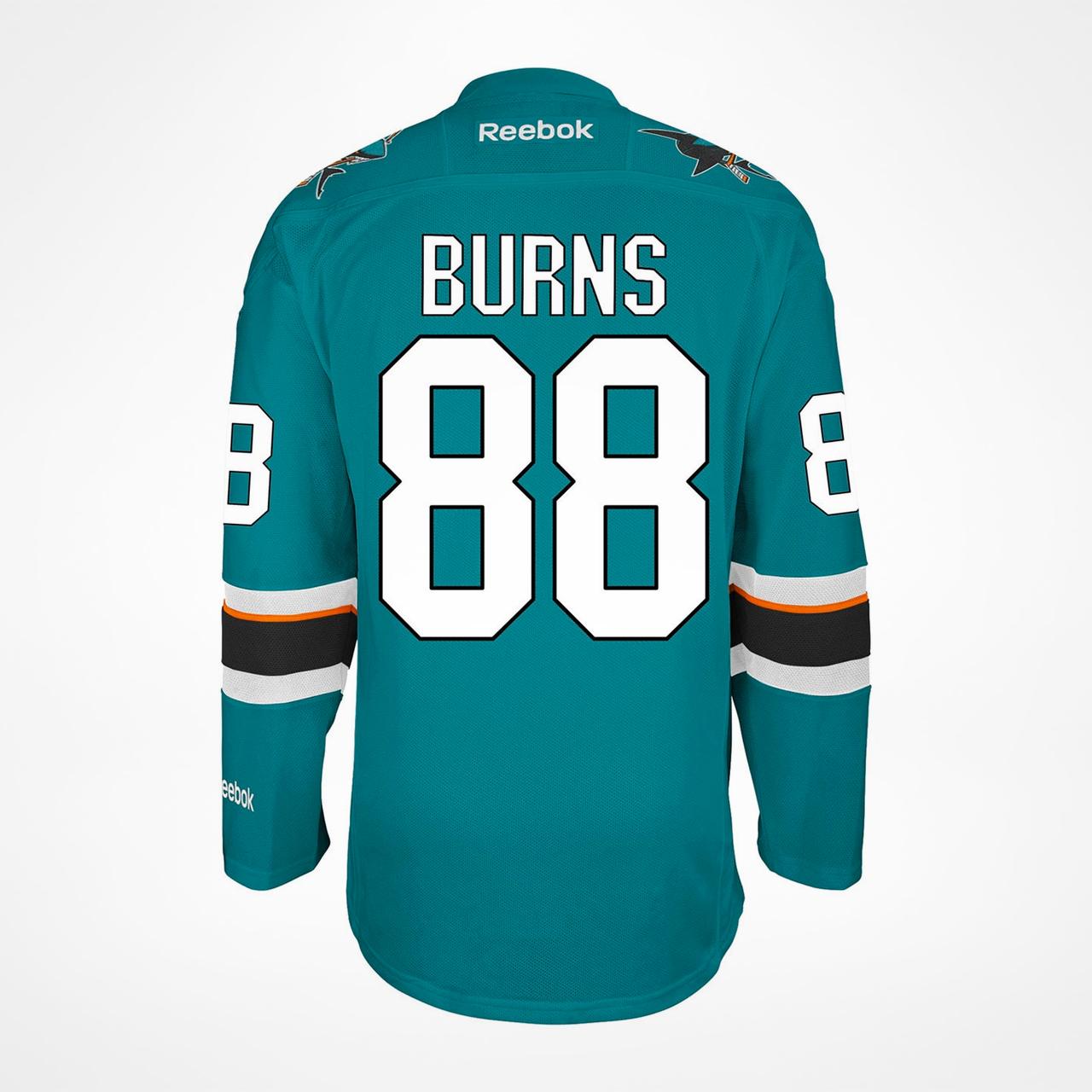 San Jose Sharks Burns 88 Hemmatröja Premier 2016/17 - SupportersPlace
